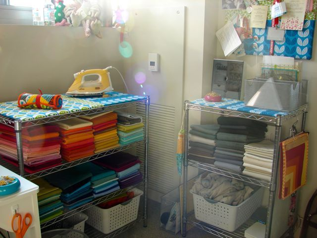 Sewing room tip for small spaces: Jacquie from Tallgrass Prairie ...