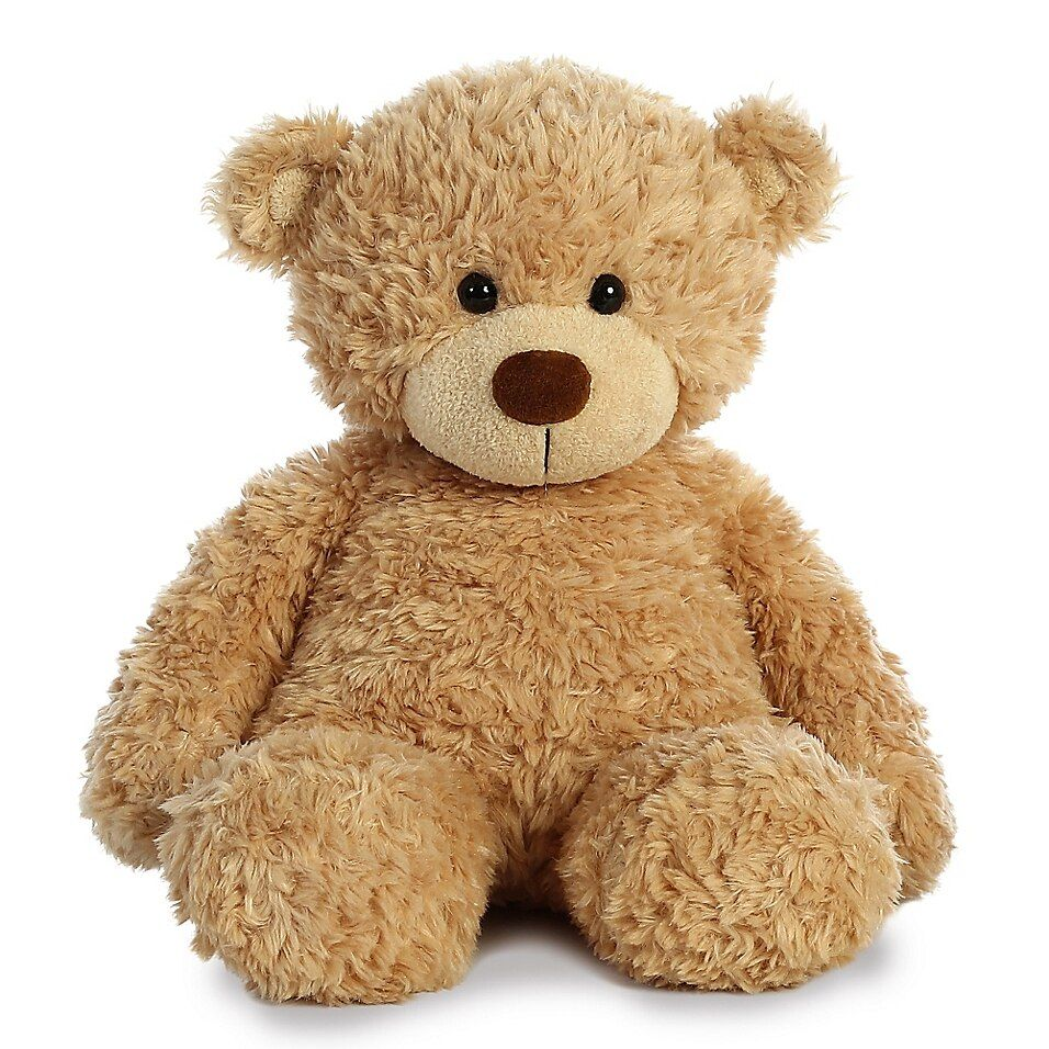 Aurora World 13-Inch Bonny Bear Plush Toy In Tan - Prepare for major snuggle time with the Bonny Bear Plush Toy from Aurora World. This plush pal comes with a soft coat of tan fur, cuddly construction and an adorable bear face that your little one will never want to let go.
