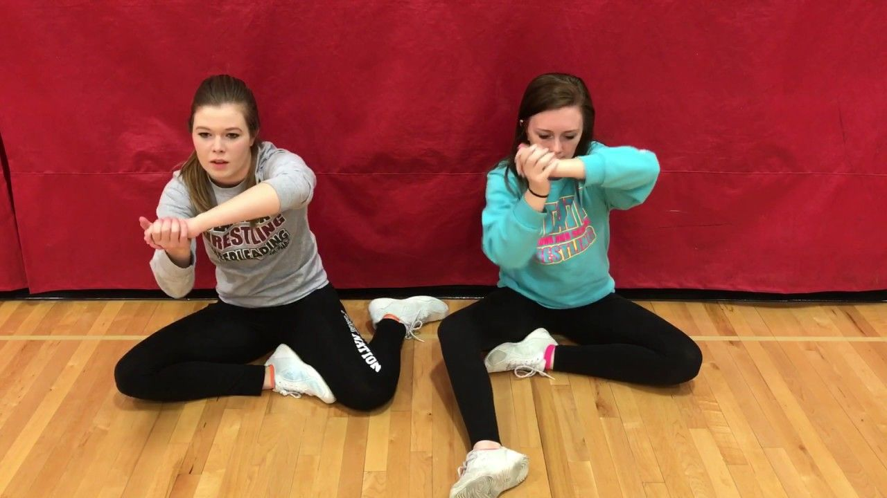 CHS Cheer Tryouts Wrestling Cheer 2017 YouTube (With