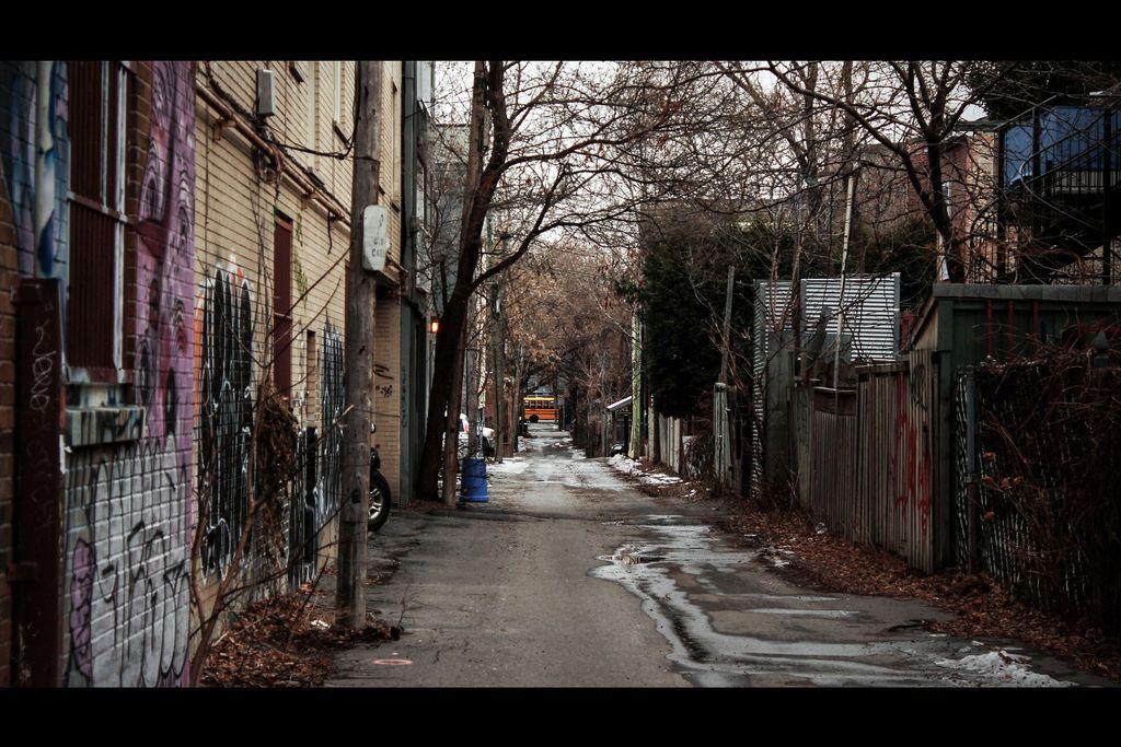 Colorful alleyways
