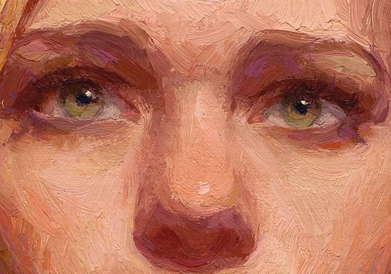 """Golden"" (detail) by Scott Burdick"