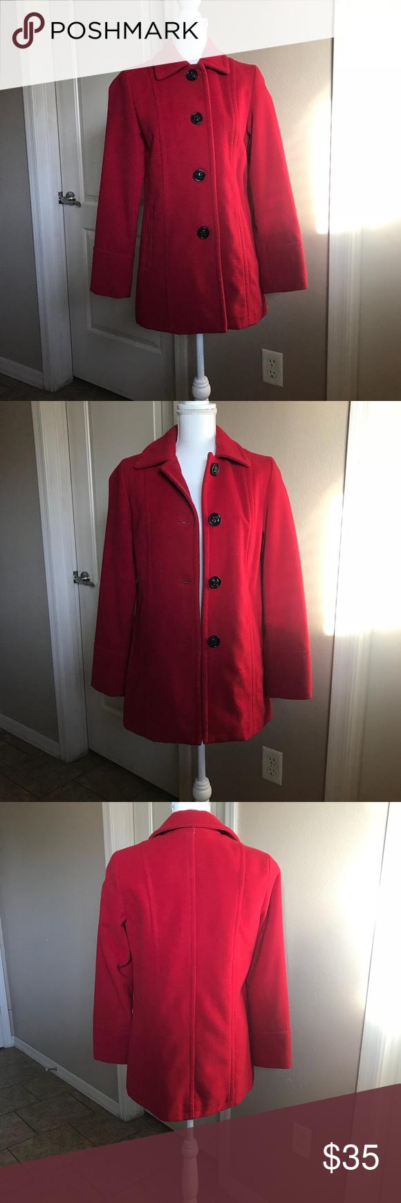 Liz Claiborne Red Coat Red Coat Clothes Design Liz Claiborne [ 1740 x 580 Pixel ]