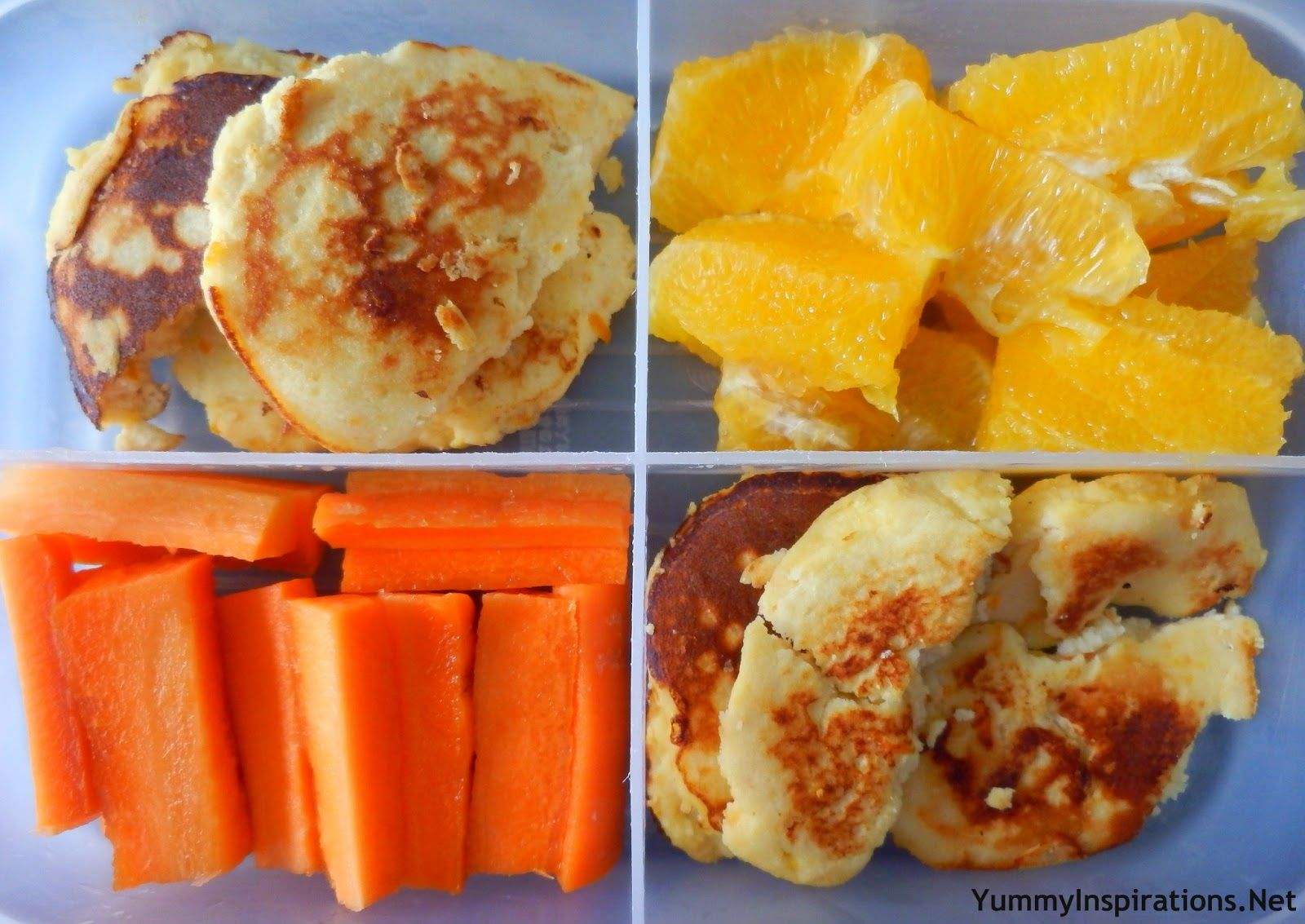 Orange Themed Lunch Box