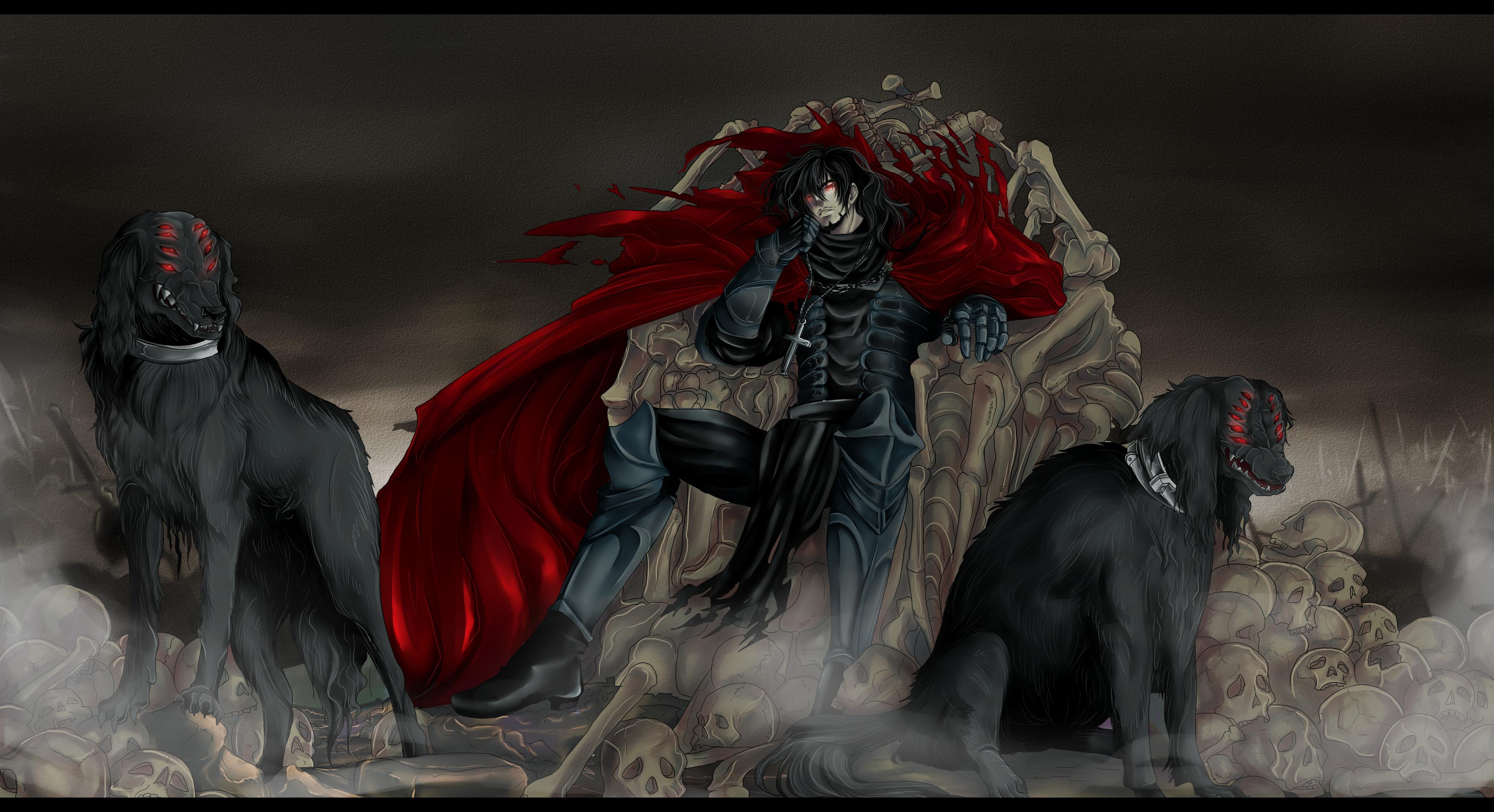 Hellsing Alucard Huge Poster 3