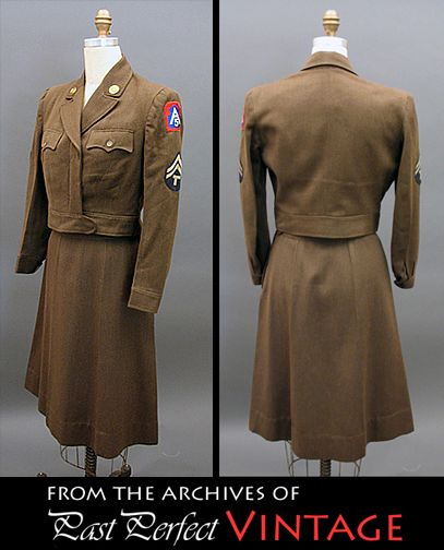 1944 Women s Army Corps olive drab uniform 283471101