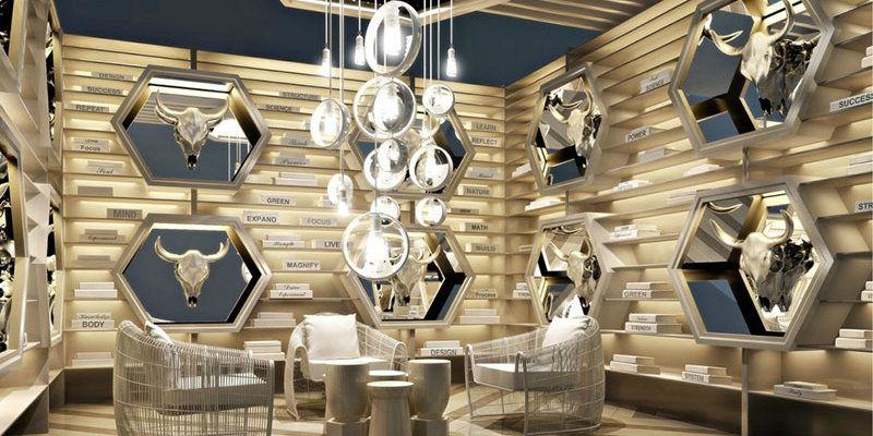 Pin by on lobby Pinterest Boutique design Trade fair