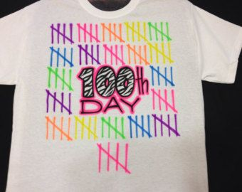 100 th Day School Airbrush Shirt size XS S by airbrushingbytaylor