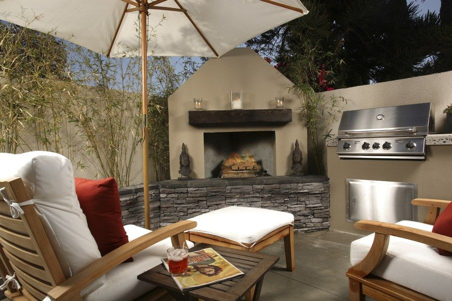 outdoor fire pits are lovely in fall