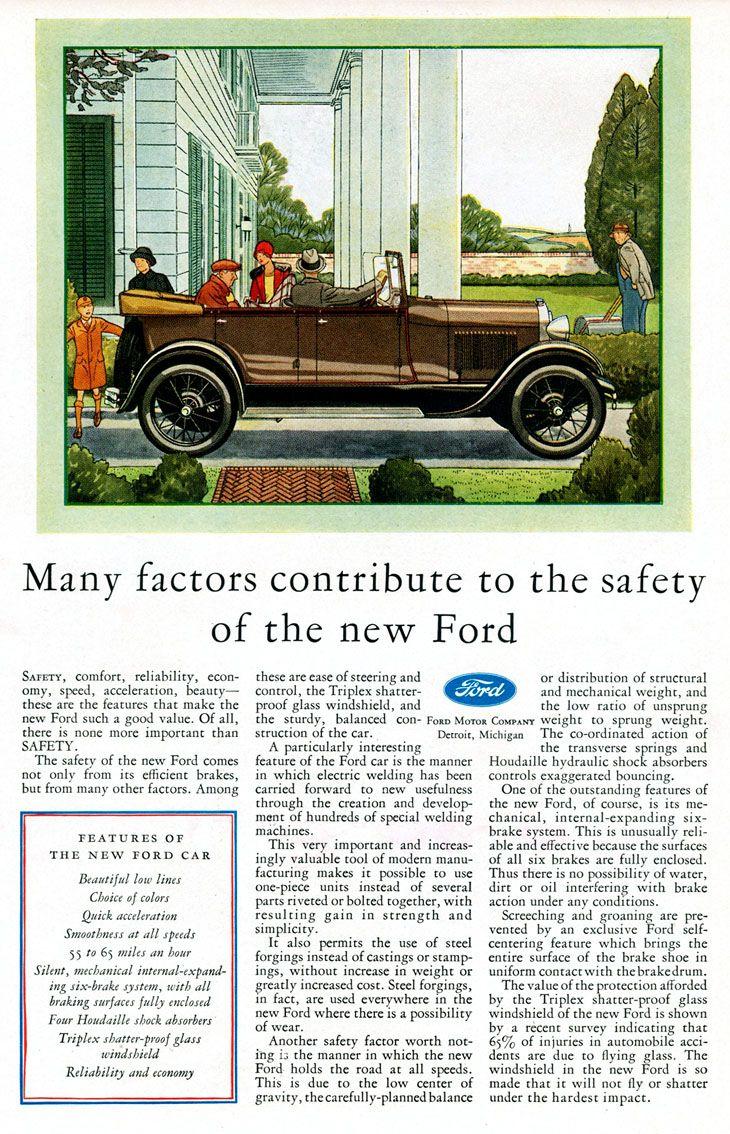 1929 Ford Brochure Jimmy Granger Ford, New Car, New Truck