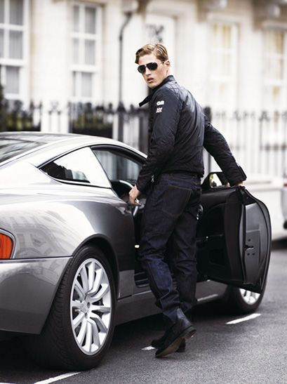 S British Mens Fashion Casual Jaguar