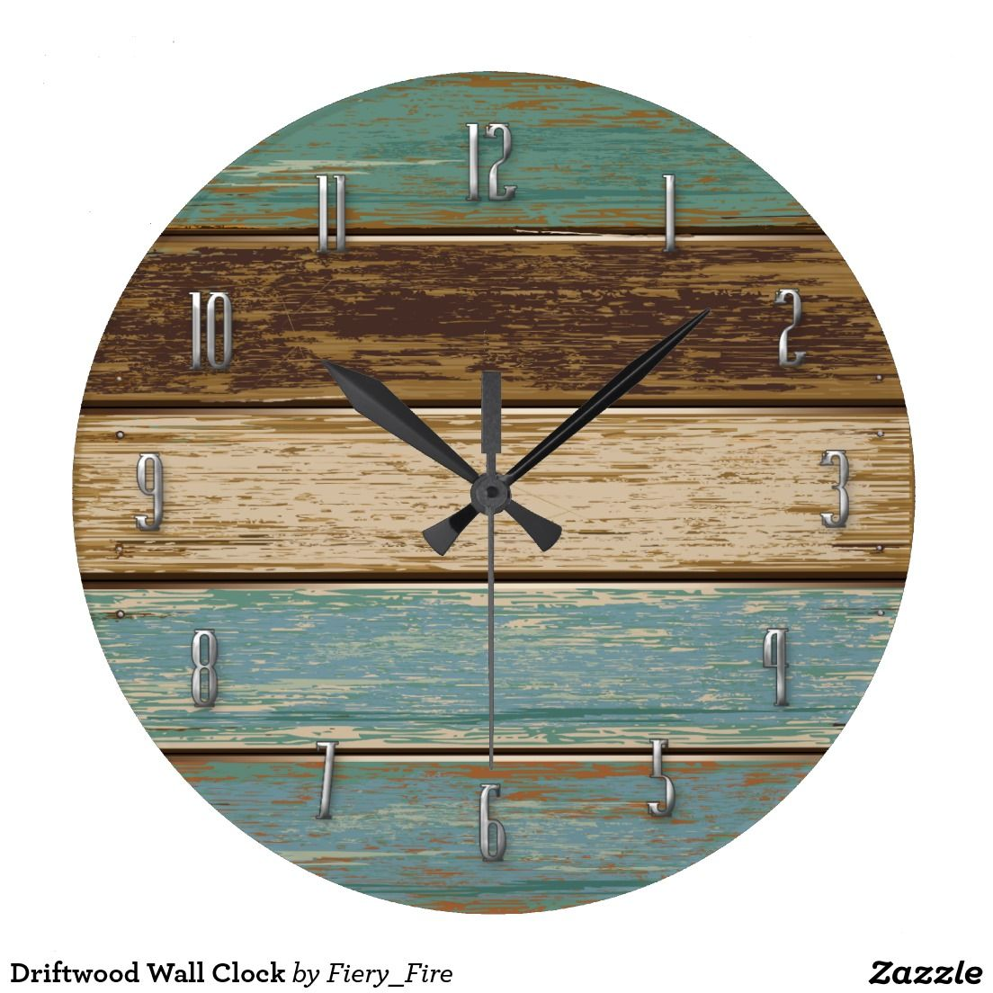 Driftwood wall clock clocks custom made for sale pinterest driftwood wall clock amipublicfo Image collections