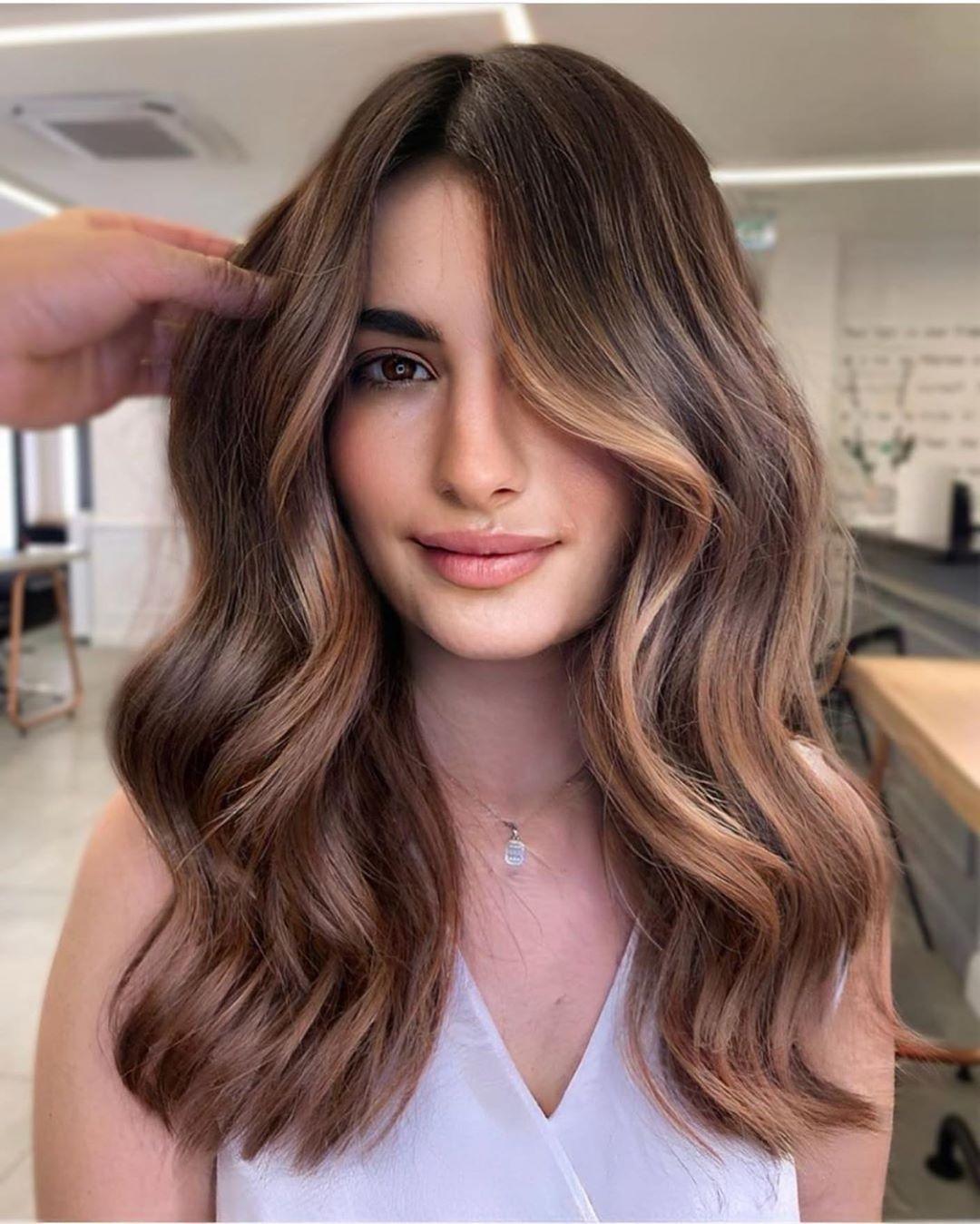 8 Trendige Frisuren Lange Haare Mit Stufig  Haarschnitt lange