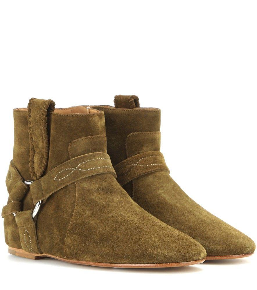 Chaussures Isabel Marant vertes Casual femme Pas Cher Profiter yRpLD2BwEV