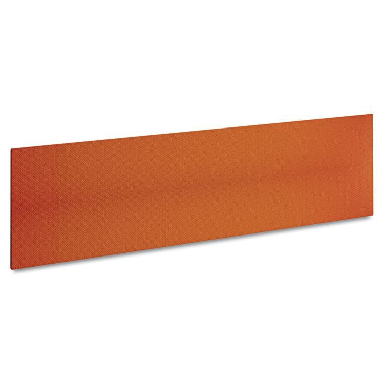 """Momentum Collection Tackboard For 72"""" Hutch, 66-1/4w X 5/8d X 18-1/8h, Tangerine"""