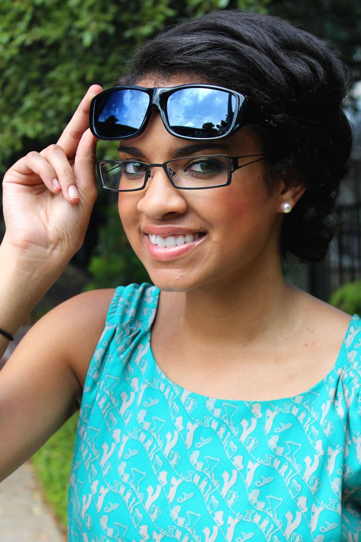 a35ca6b191 Quamby Eternal Black (Polarvue® Gray) fitover sunglasses by Jonathan Paul®  the ORIGINAL Fitovers.