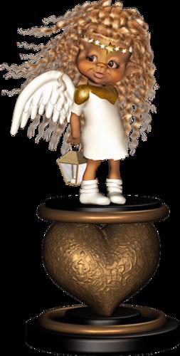 Ce petit angelot vous souhaite un bon week-end !