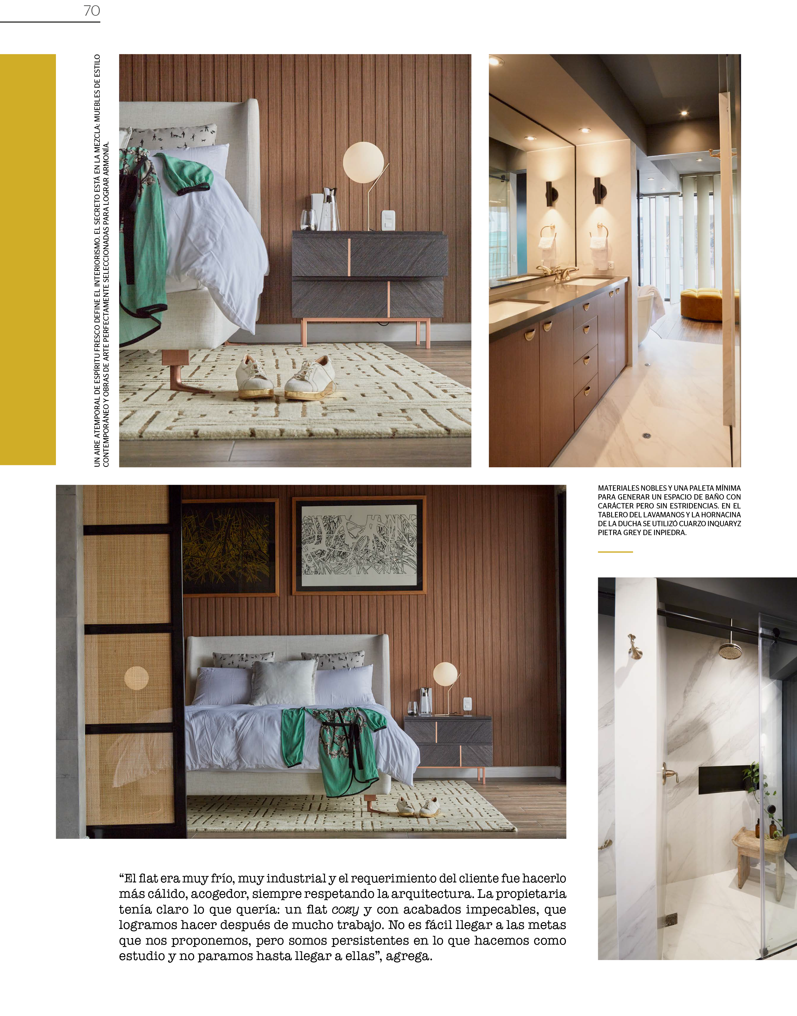 VOSAREA Jarr/ón de cer/ámica minimalista para decoraci/ón del hogar o la oficina color blanco