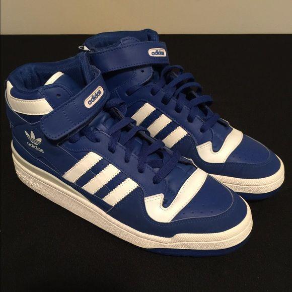 Adidas Forum Mid | Adidas, Blue adidas