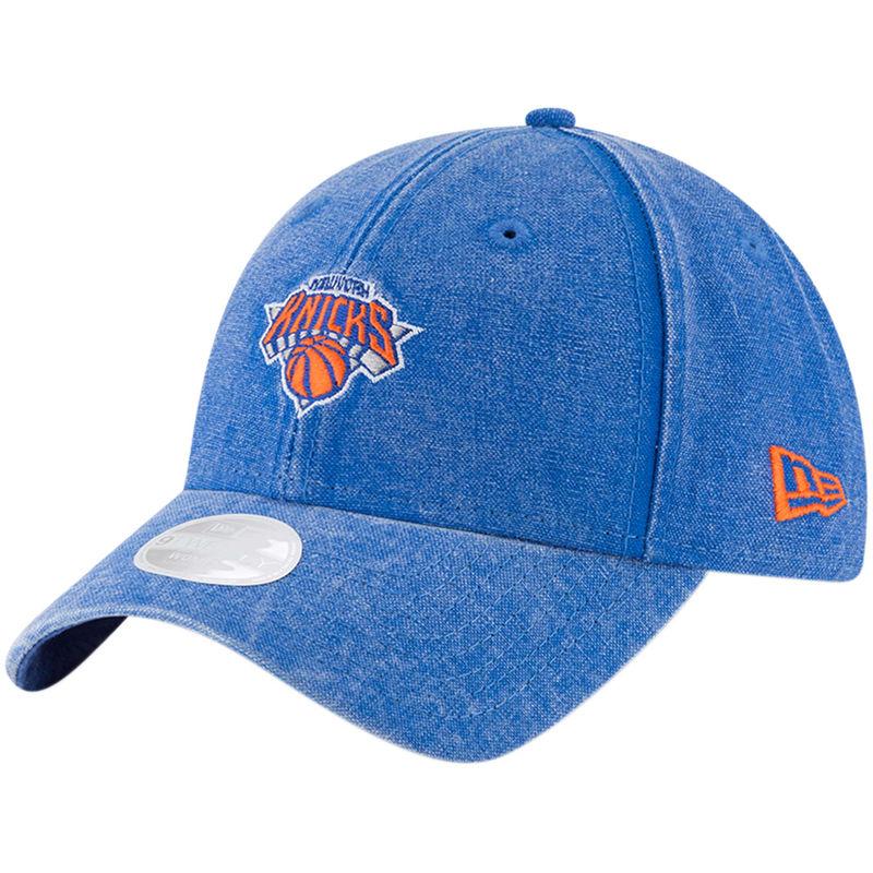 pretty nice 69cba 14162 New York Knicks New Era Always Fan 9TWENTY Adjustable Hat – Blue