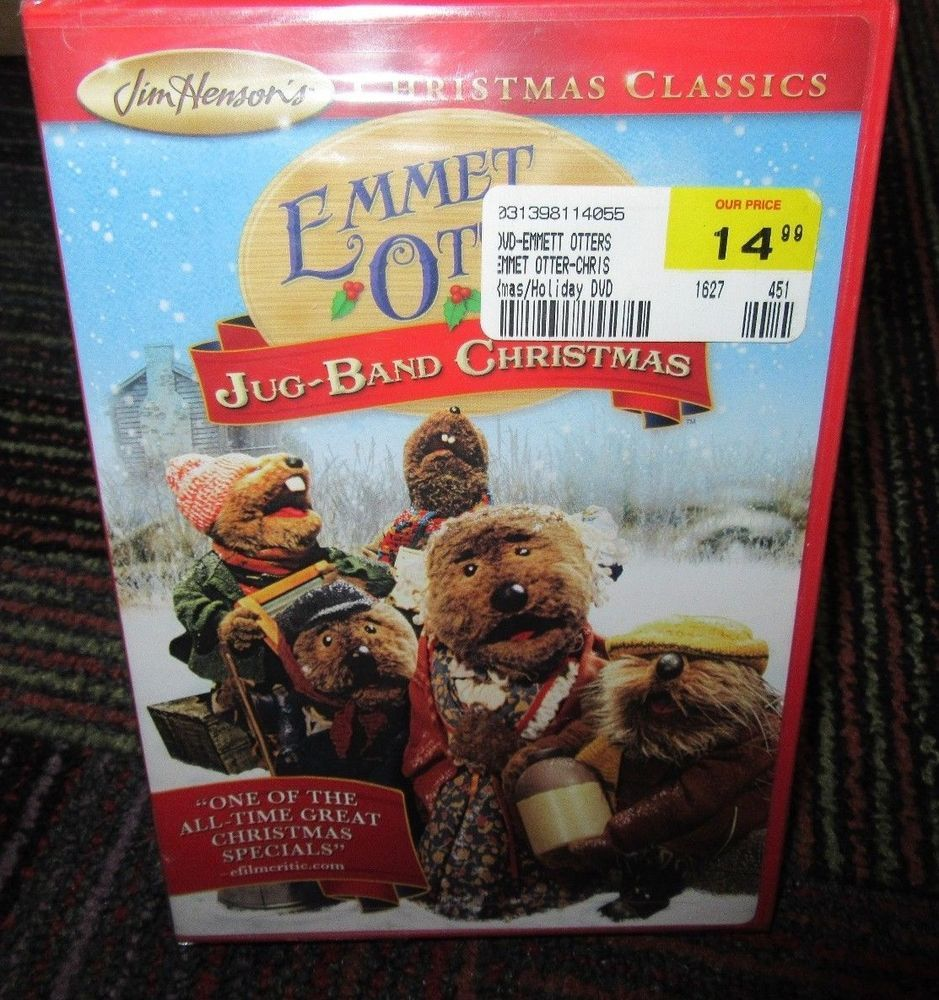 Emmet otter\'s jug-band christmas dvd movie, jim henson christmas ...