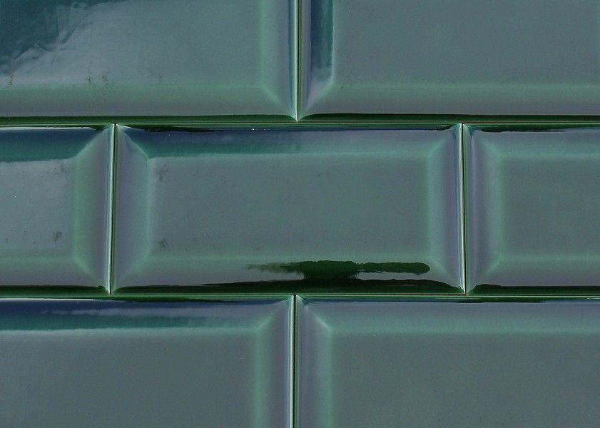 Wandfliese METRO Farbe Blattgrün Craquelé Von Replicata - Metro fliesen craquele