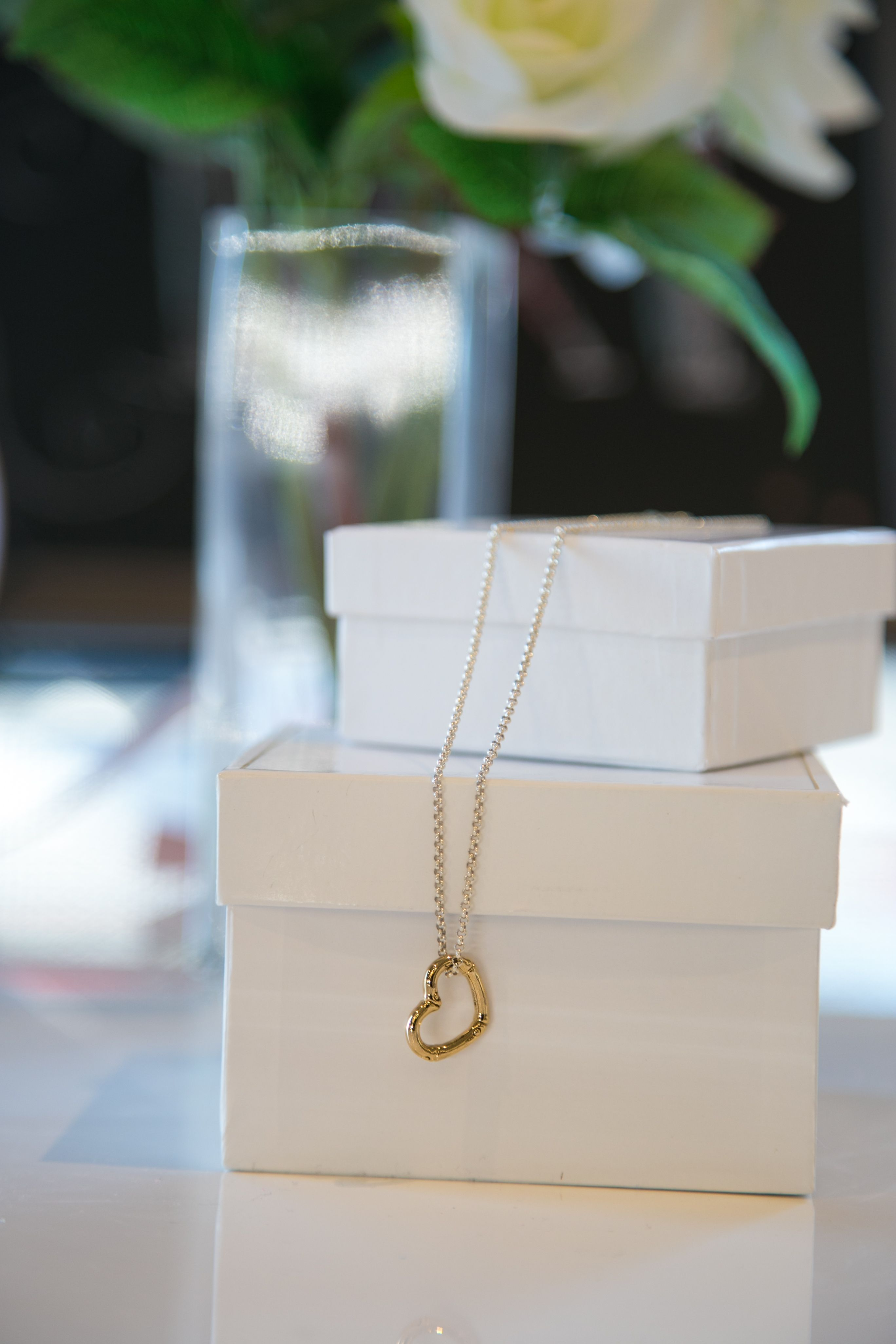John Hardy bamboo gold and silver heart necklace. #ValentinesDay ...