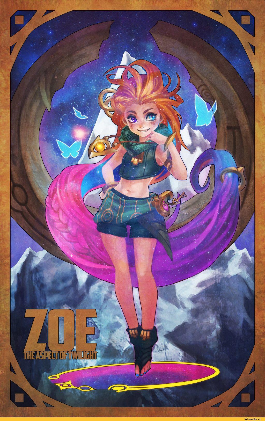 Zoe Lol League Of Legends Fendomy Monorirogue 4152859 Jpeg 1024 1612 Leona League Of Legends Desenhos Desenhos De Anime