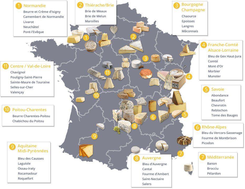 Sery we Francji - słownictwo 8 - Francuski przy kawie