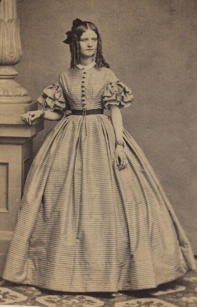 Women's Wedding Dresses From the Civil War