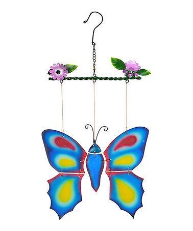Look what I found on #zulily! Blue Butterfly Spinning Sun Catcher #zulilyfinds