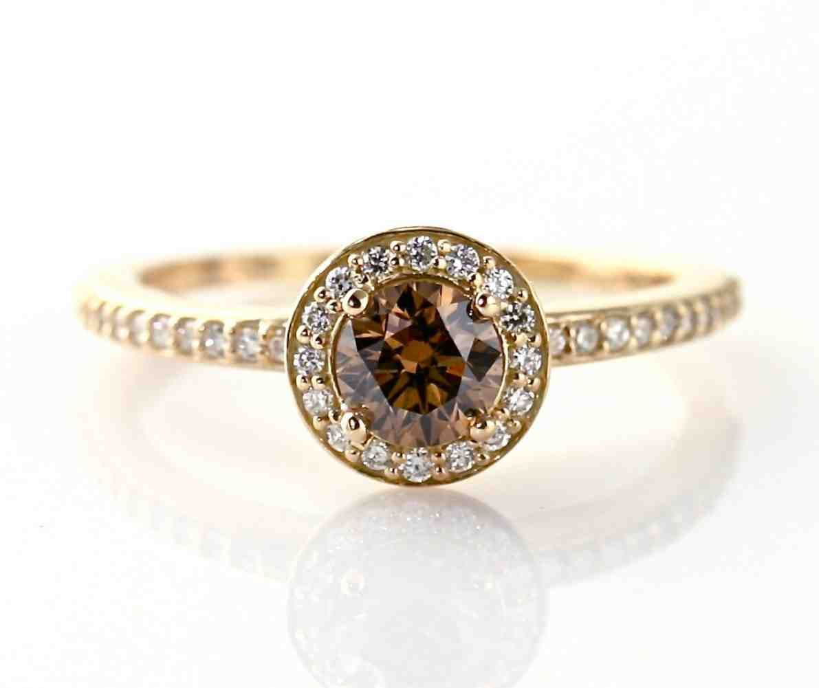 Chocolate Diamond Wedding Ring | Cheap Chocolate Diamond Engagement Rings Cheap Diamond Engagement