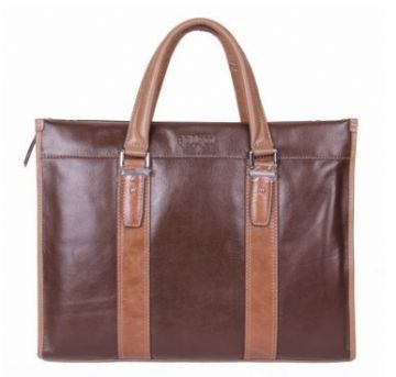 14fd600fcece69 leather briefcases FHL13-010501, brown color, made in cow leather,Size: