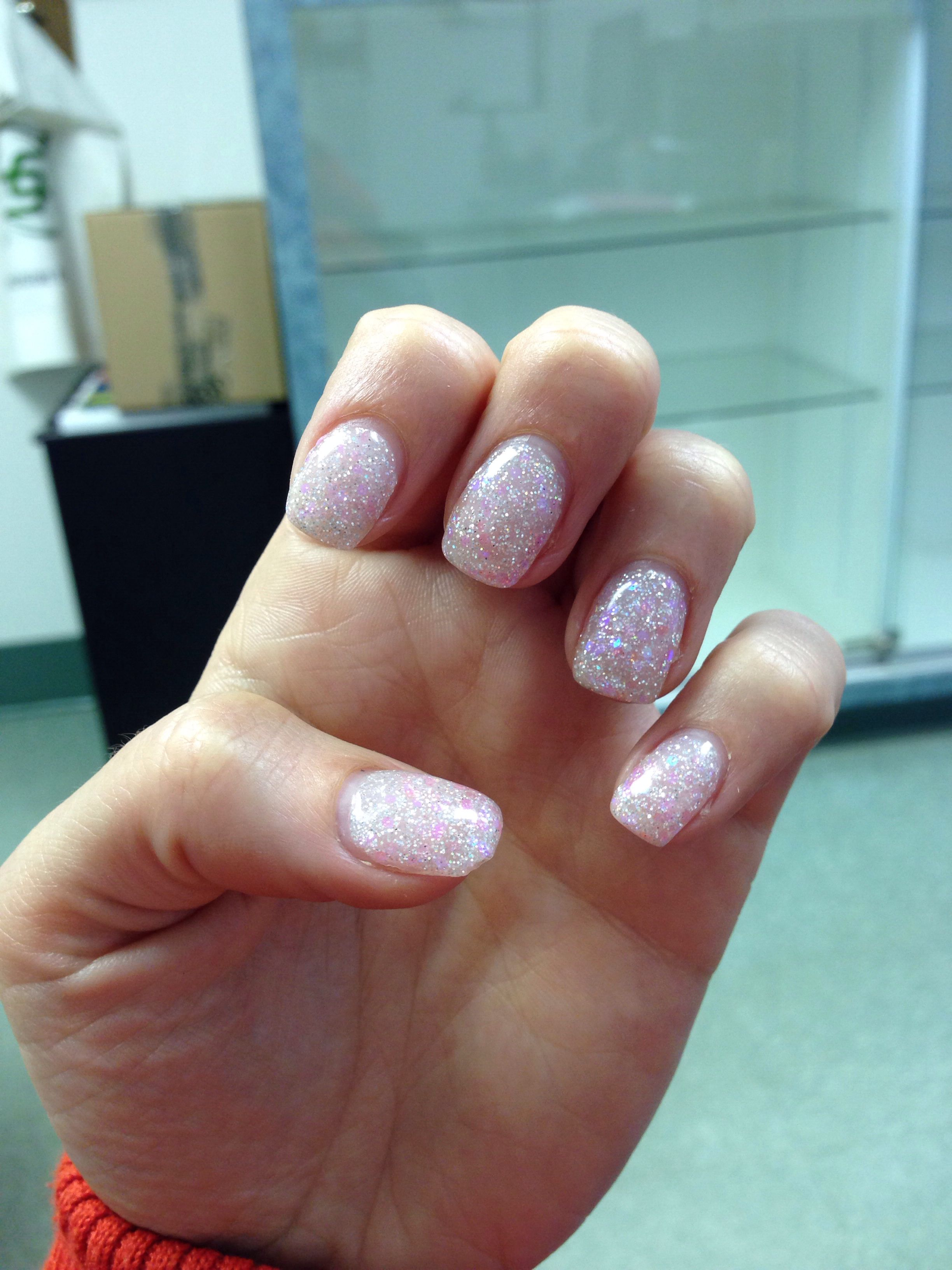 Gel nails March 31, 2014. And they glow in the dark!! | My nails ...