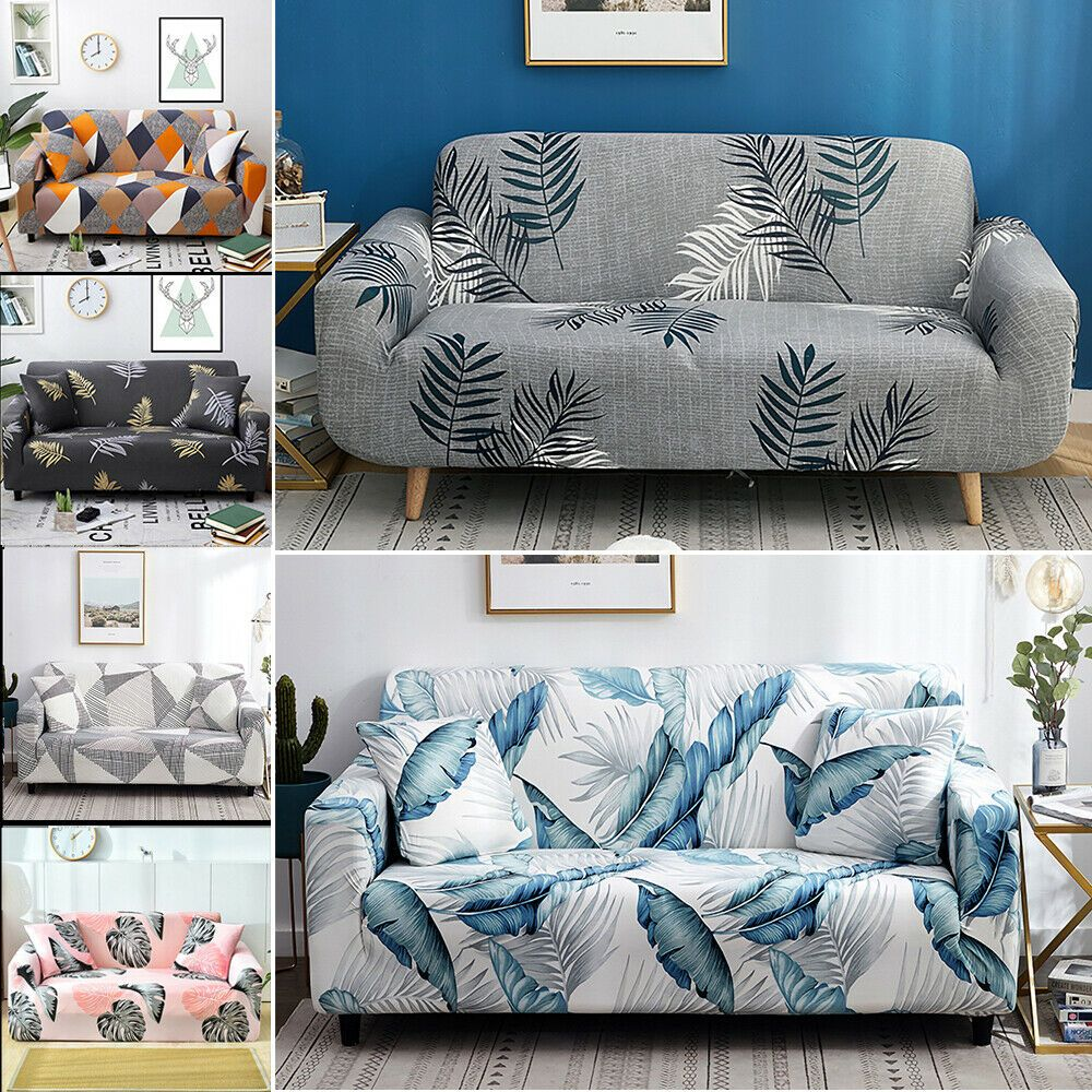 1234 Floral Elastic Sofa Cover Slipcover Stretch Couch Furniture Protector Xmas Ebay In 2020 Sofa Decor Couch Furniture Sofa Covers