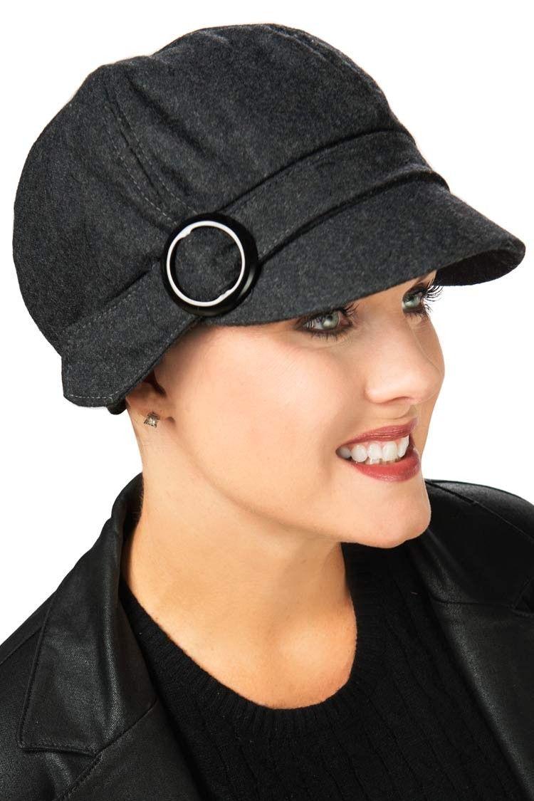 20e8e7ac3c6 Wool Vivian Newsboy Hat - Headwear