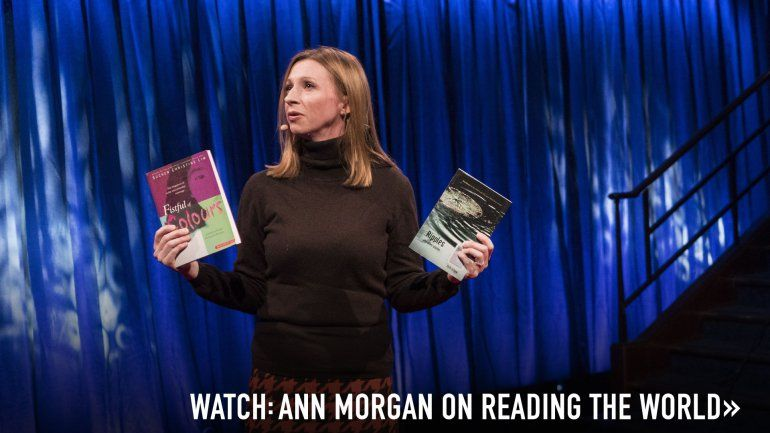 """TED : Ann Morgan """"My year reading a book from every country in the world"""" lovely idea"""