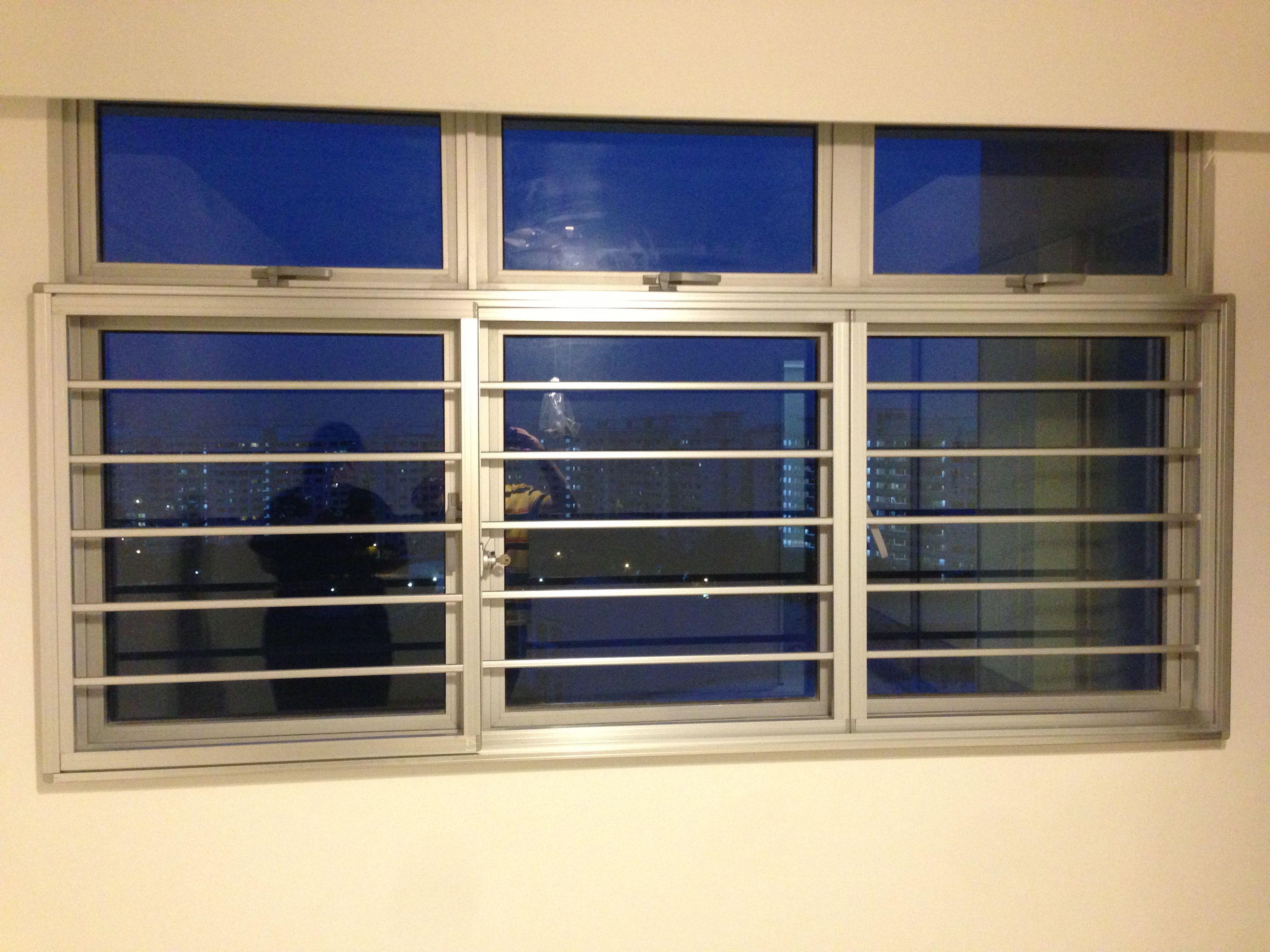 commercial door security bar. Window Grille - #IntraDesign. Commercial Door Security Bar
