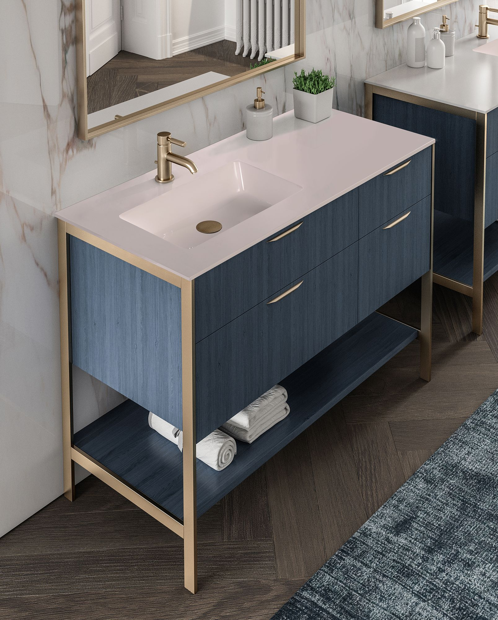 Kubitop Sink Navi Vanity Vanity Vanity Top Bathroom Design