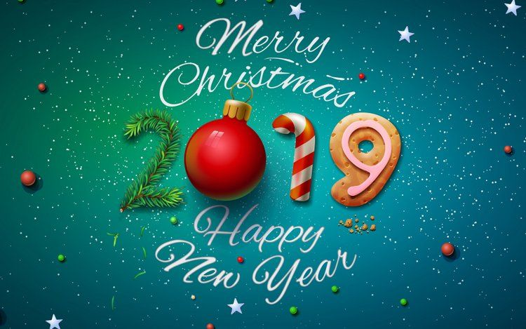 2019 Happy New Year Hd Wallpapers For Desktop Merry Christmas Images Happy New Year Wallpaper Merry Christmas Hd Images