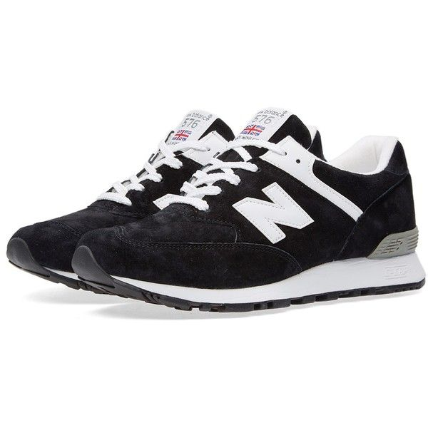 New Balance W576KGS - Made in England (230 NZD) ❤ liked on Polyvore featuring shoes, new balance, new balance footwear, mesh shoes, mesh cap and new balance shoes