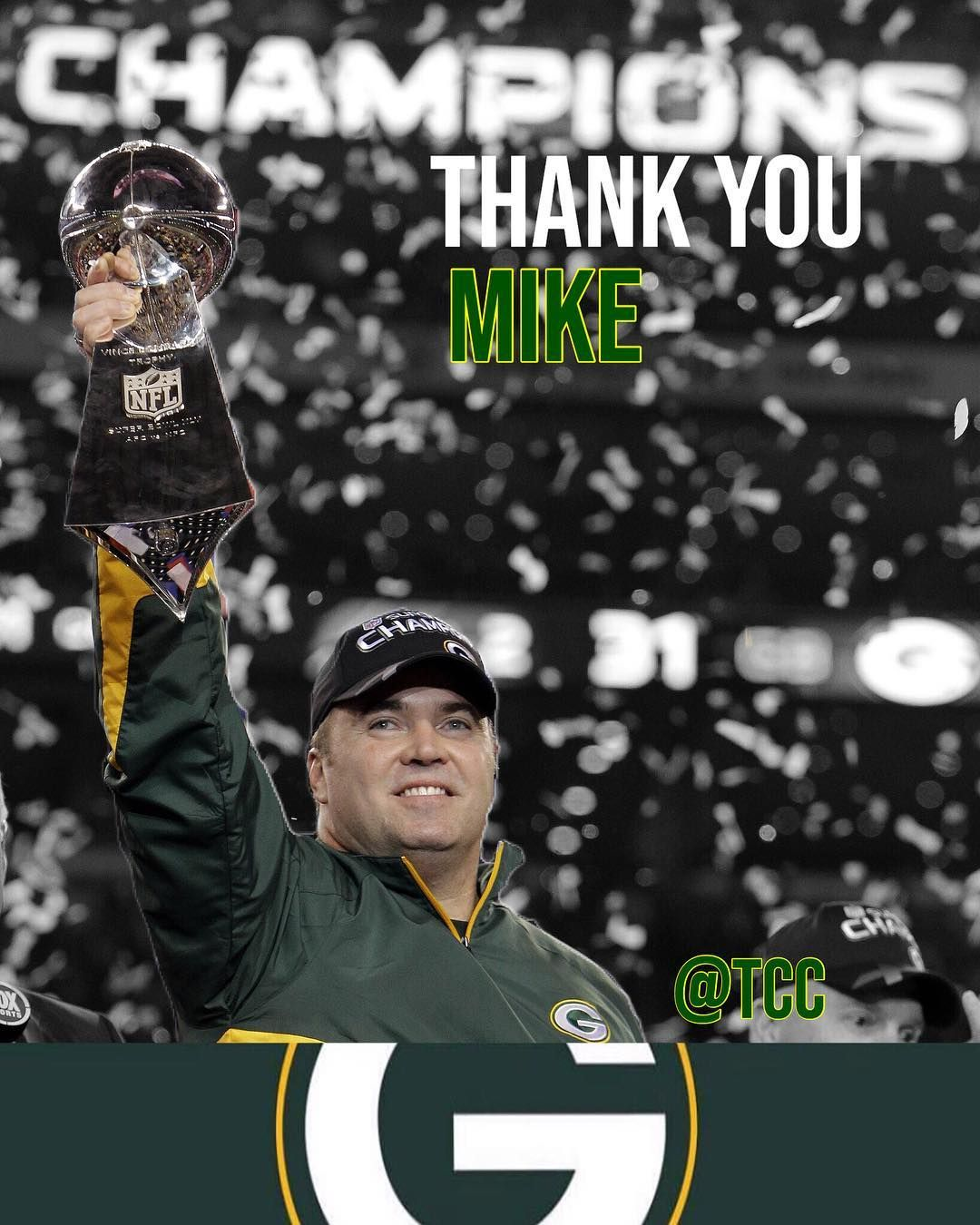 Yesterday After A Disappointing Loss To The Arizona Cardinals The Packers Came To The Decision To Fire H Nfl Green Bay Green Bay Packers Fans Green Bay Packers