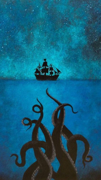 kraken pirates of the caribbean