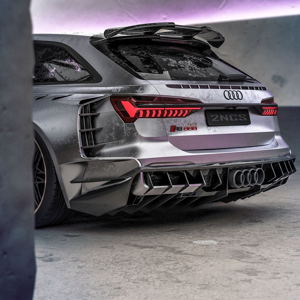 2020 Audi Rs6 2ncs On Behance In 2020 Auto S Motoren Auto S En Motoren Motor