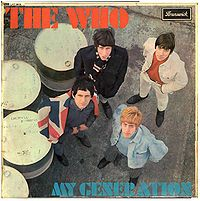 The Who ~ My Generation