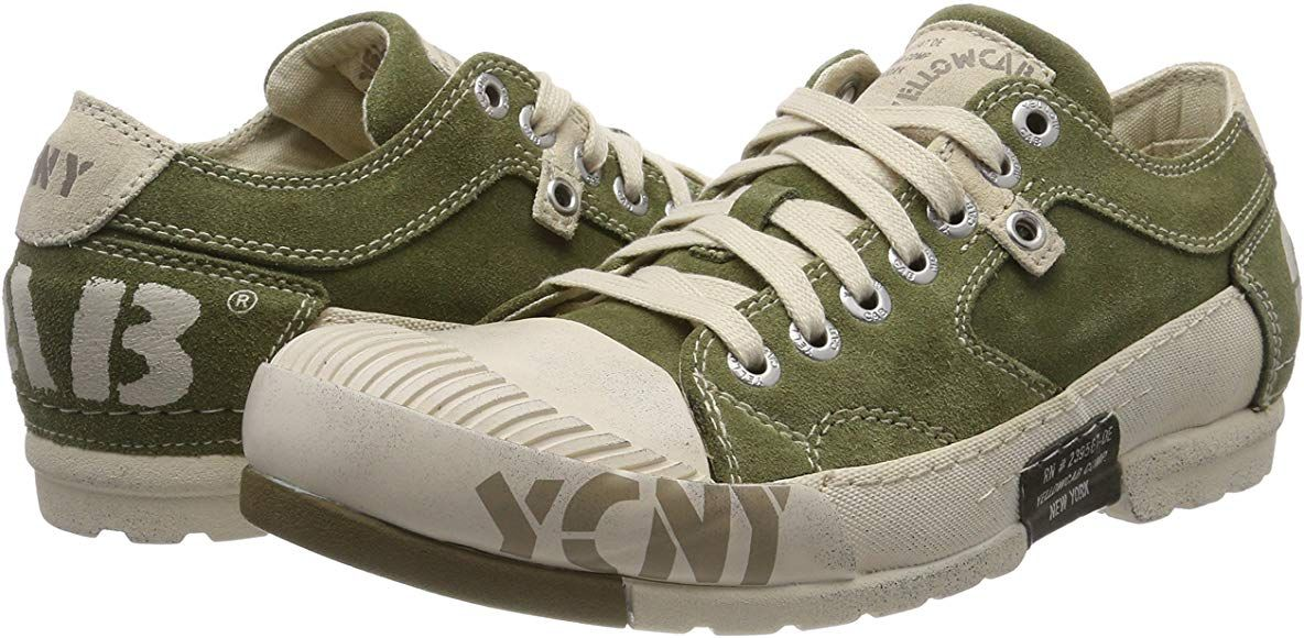 reputable site 2f65d 15b4e Yellow Cab Mud M, Men's Low-Top Trainers, Green (Moss), 7.5 ...