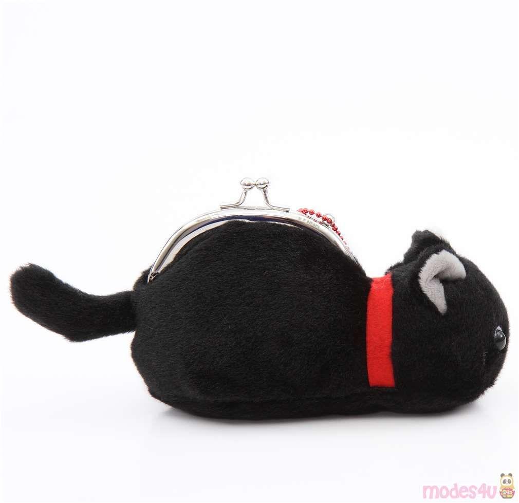 Soft Cute Black Cat Plush Tsuchineko Purse Wallet From Japan Black Cat Plush Cute Black Cats Cat Plush [ 979 x 1010 Pixel ]