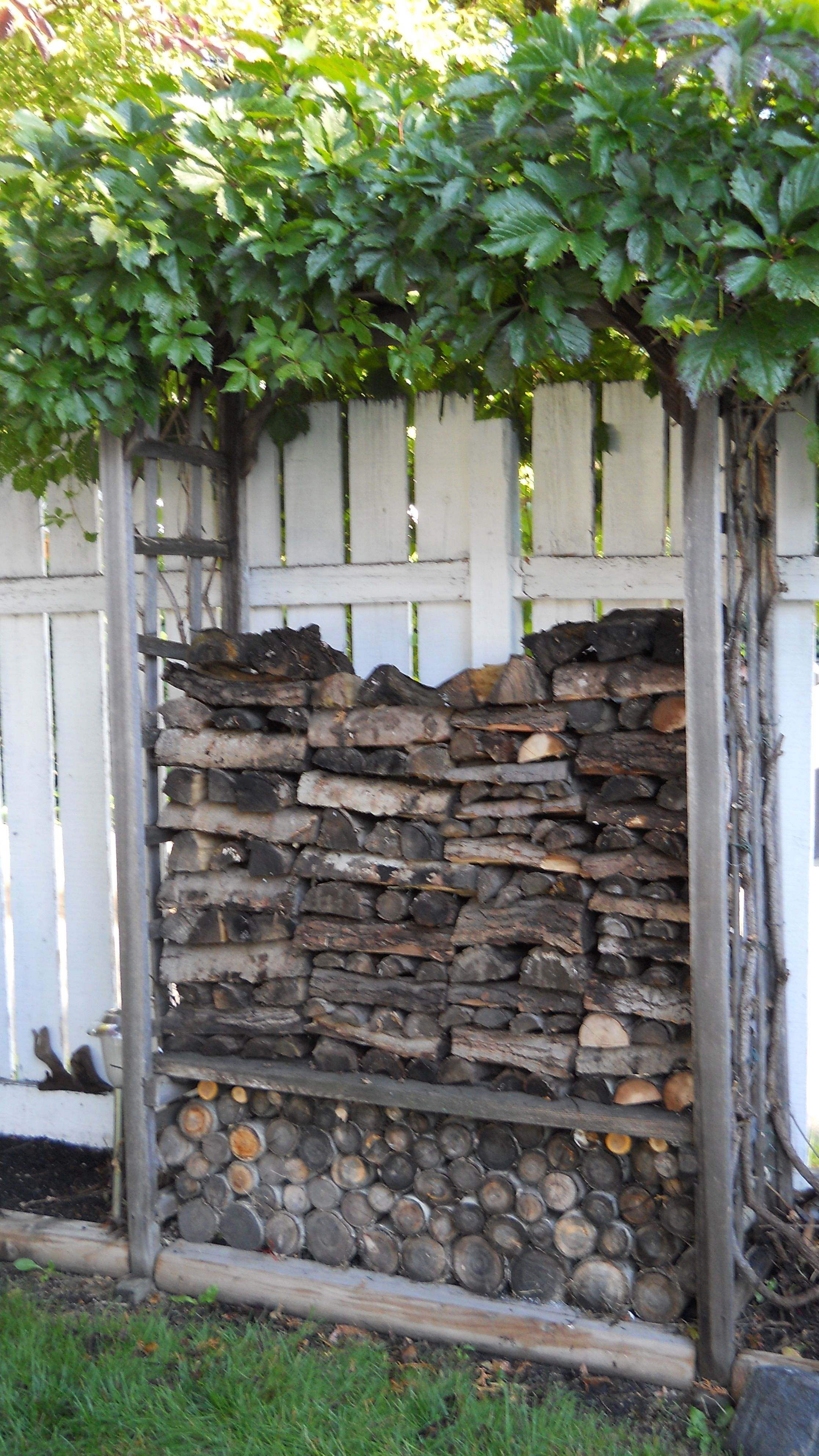 Outdoor Firewood Storage Containers Wood Pile Firewood Wood Stoves And Fireplaces Wood