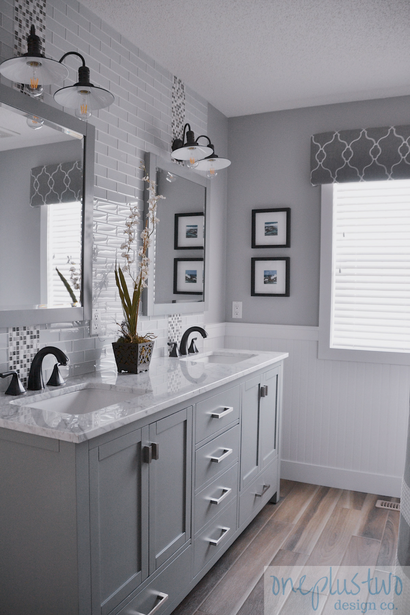 Main Bathroom Renovation Reveal (With images) | Bathroom ... on Main Bathroom Ideas  id=98863