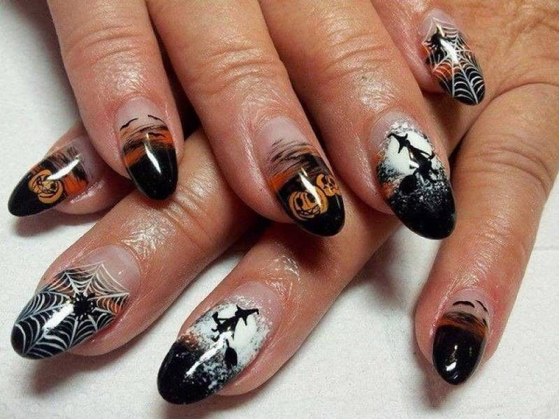 89+ Seriously Spooky Halloween Nail Art Ideas | Personal care