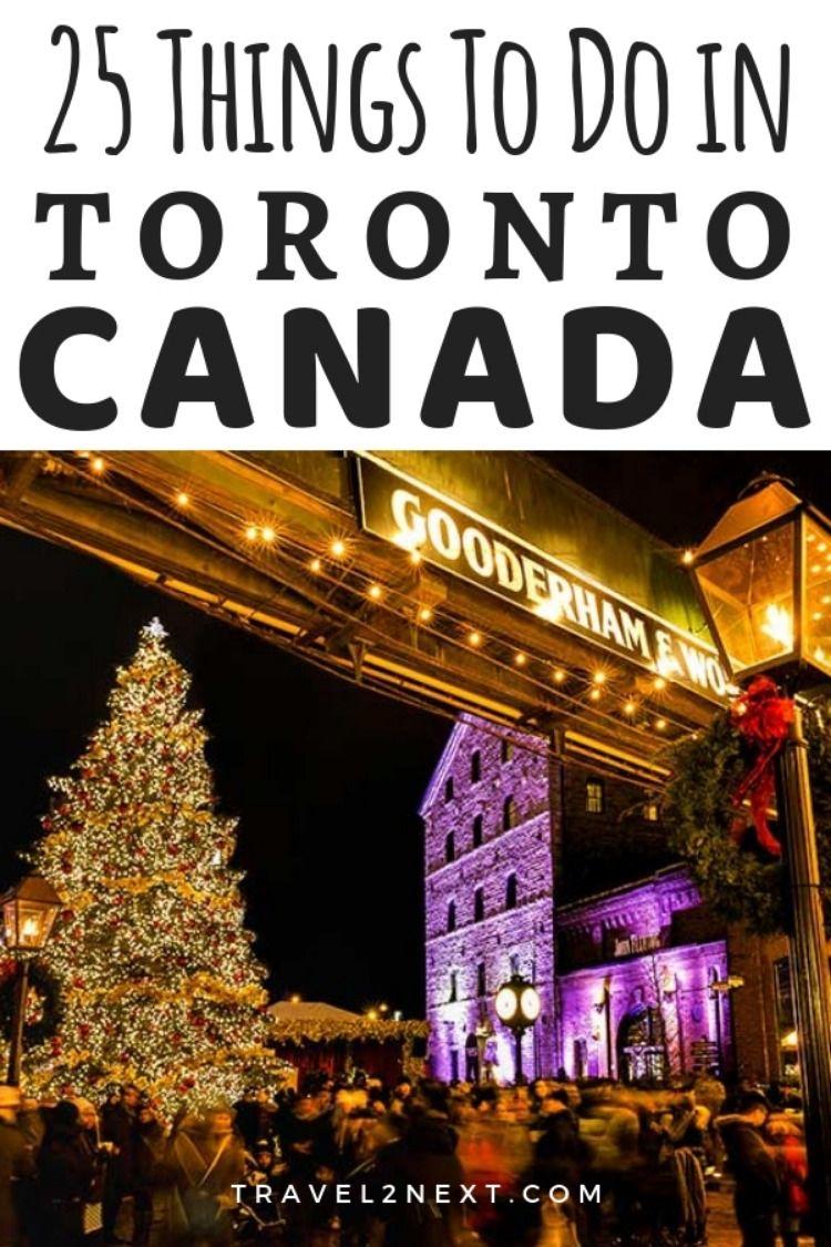 25 things to do in Toronto | Toronto travel, Canada travel, Canada destinations